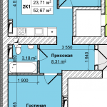 01-2комн-52м2-схема