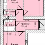 02-2комн-57м2-01-схема